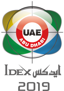 Invitation to IDEX 2019, Abu Dhabi - booth no. 01-A22