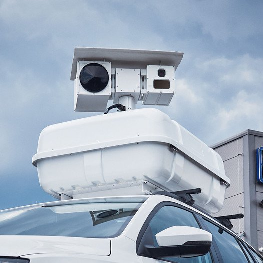 Electro-Optical Surveillance Roof Box System - roof box dimensions and final weight depends on chosen box